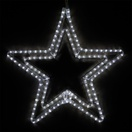 "24"" LED Cool White Classic Star"