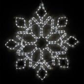 "24"" LED Cool White Snowflake"