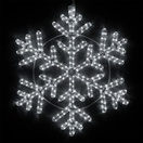 "24"" LED Cool White Snowflake"