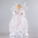 "14"" White Angel Tree Topper"