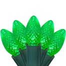 C7 Green Commercial LED Christmas Lights