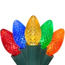 C7 Multicolor Commercial LED Christmas Lights