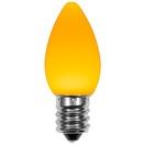 C7 Gold Smooth OptiCore LED Christmas Light Bulbs