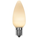 C9 Warm White Smooth OptiCore LED Christmas Light Bulbs