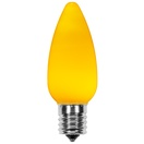 C9 Gold Smooth OptiCore LED Christmas Light Bulbs