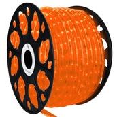 "150' Orange LED Rope Light, 2 Wire 1/2"", 120 Volt"