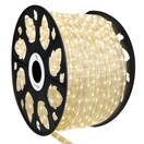 "150' Warm White LED Rope Light, 2 Wire 1/2"", 120 Volt"