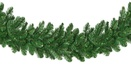 Oregon Fir Prelit Commercial LED Christmas Garland, Warm White Lights