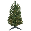 3' Douglas Fir Table Top Tree, 50 Clear Lamps