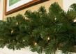 Sequoia Fir Prelit Commercial Christmas Garland, Clear Lights