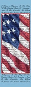 "Pledge of Allegiance Light Pole Banner 30"" x 84"""