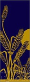 "Wheat Light Pole Banner 30"" x 60"""