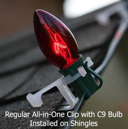 C7 and c9 accessories all in one clip 100 pack for Exterior christmas light clips