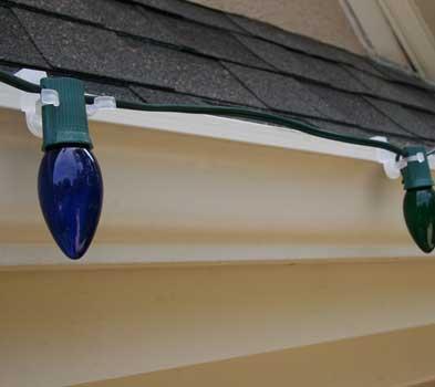 Outdoor Christmas Light Hangers For Gutters