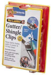 Gutter / Shingle Clips, 25 Pack