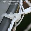 Gutter Hooks, 100 Pack