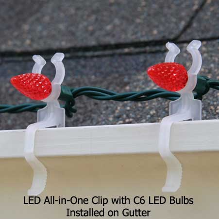 LED All-In-One Clip, 100 Pack