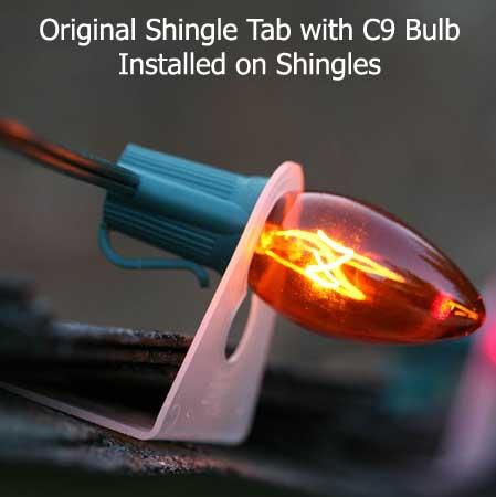 c7 and c9 accessories original shingle tab 100 pack. Black Bedroom Furniture Sets. Home Design Ideas