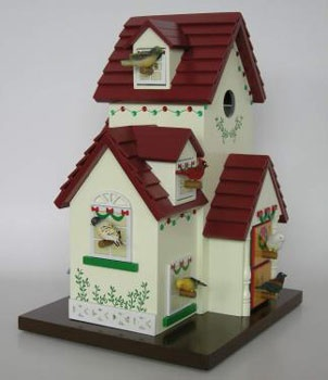 Advent Bird House