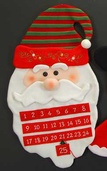 Santa Head Advent Calendar