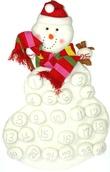 """26"""" Snowman Advent Calendar"""