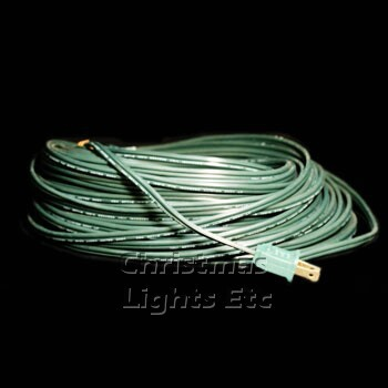 SPT1 100' Green Wire With Male Plug