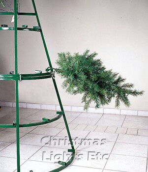 17' Giant Everest Commercial Christmas Tree, 5mm Warm White LED Lights