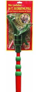 16' Christmas Decorating Pole with Adapter