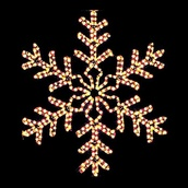 3' Giant Clear Snowflake