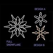 4' Transformation Snowflake