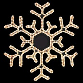 "31.5"" Snowflake"