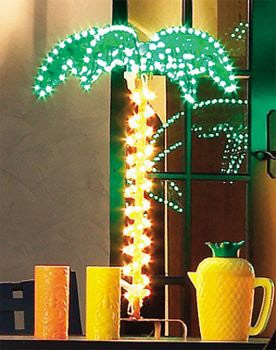 4.5' Lighted Palm Tree