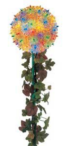 "7.5"" Mini Starlight Stake, 100 Multicolored Lamps"