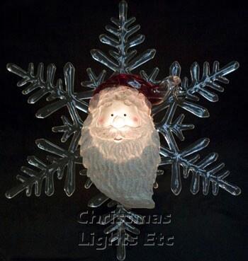 """12"""" Santa Tree Topper"""