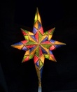 "11"" Mosaic Bethlehem Star Tree Topper"