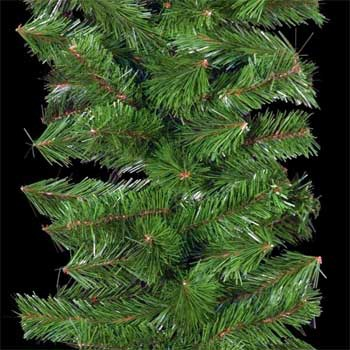 Green Mountain Pine Commercial Unlit Christmas Garland