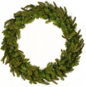 Fraser Fir Unlit Wreath