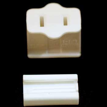 Female Zip Plug SPT1, Ivory