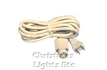 6' White Power Cord For Golden Canopy Lights