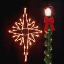 5' Bethlehem Star Silhouette