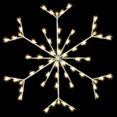 5' C7 Enhanced Pole Mounted Snowflake