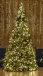 38' Giant Everest Commercial Christmas Tree, Mini Clear Lights