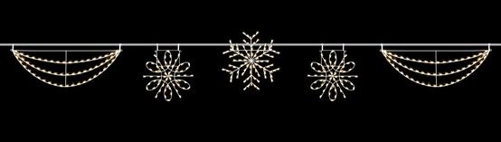 40' C7 Silhouette Snowflake Streetline