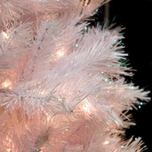 White Crystal Fir Prelit Tree