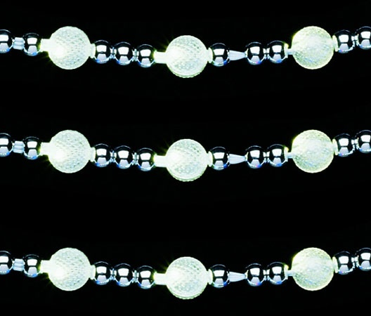 garland lights warm white led beaded light garland