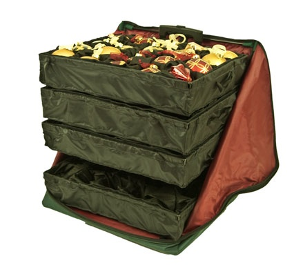 Telescopic Rolling Ornament Storage Bag