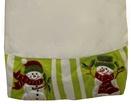 """56"""" Velvet Snowman Tree Skirt"""