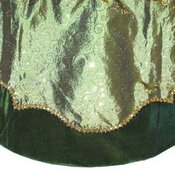 """48"""" Green Tree Skirt"""