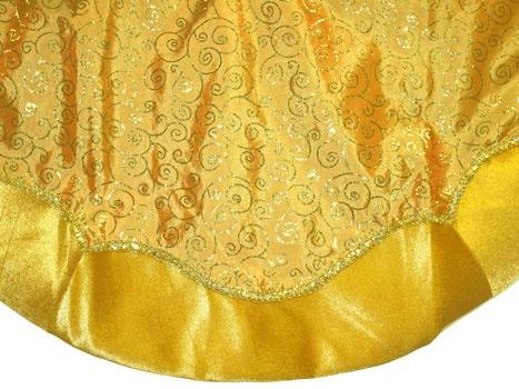 """48"""" Gold Tree Skirt"""