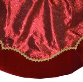 "48"" Red Tree Skirt"